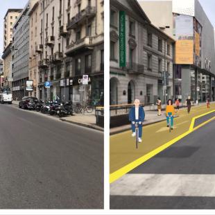 Milano riapre con Strade Aperte, per ridurre l'uso dell'auto dopo il blocco