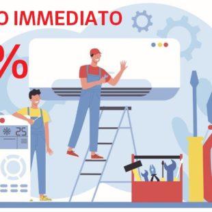 CLIMATIZZATORE A POMPA DI CALORE CON SCONTO IMMEDIATO DEL 65%