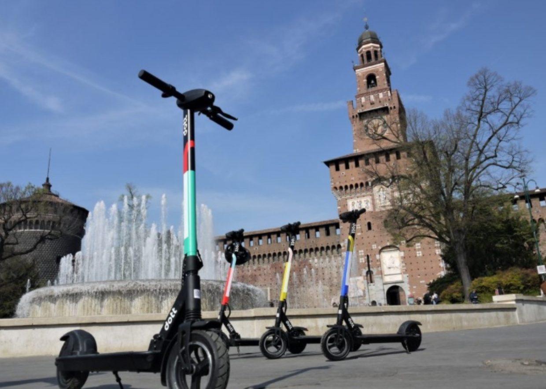 In arrivo a Milano 3.500 monopattini elettrici in sharing