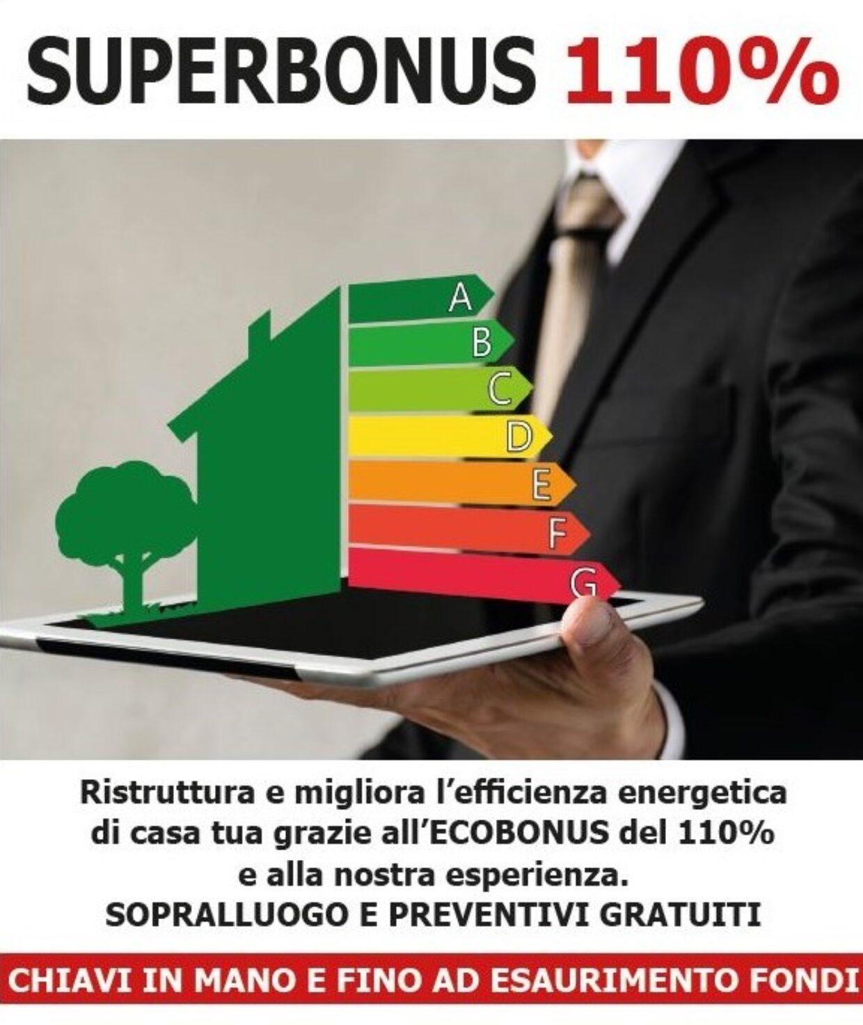 APPROFITTA ADESSO DEL SUPERBONUS DEL 110%