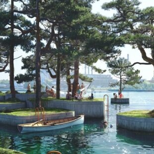 Parkipelago, il primo parco galleggiante della storia