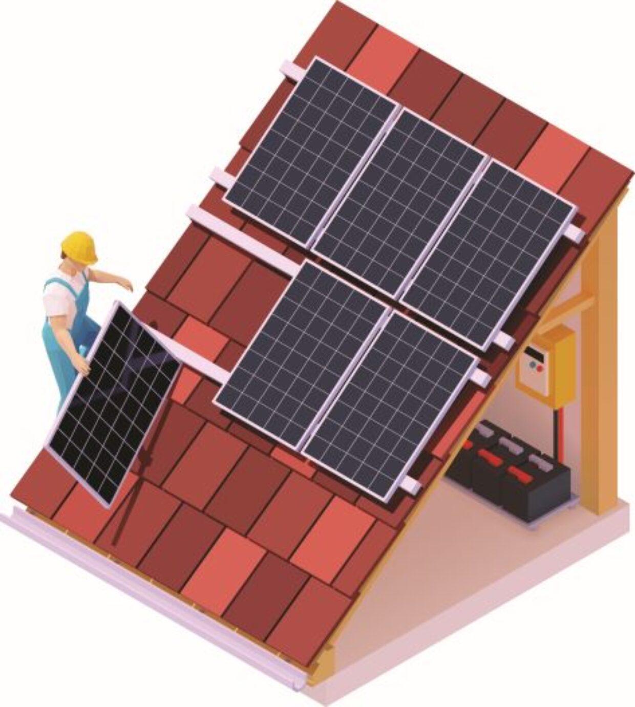 Il fotovoltaico sul tetto fa raddoppiare il bonus