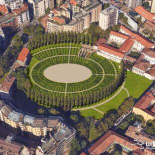 """Nasce il """"Colosseo green"""" a Milano"""